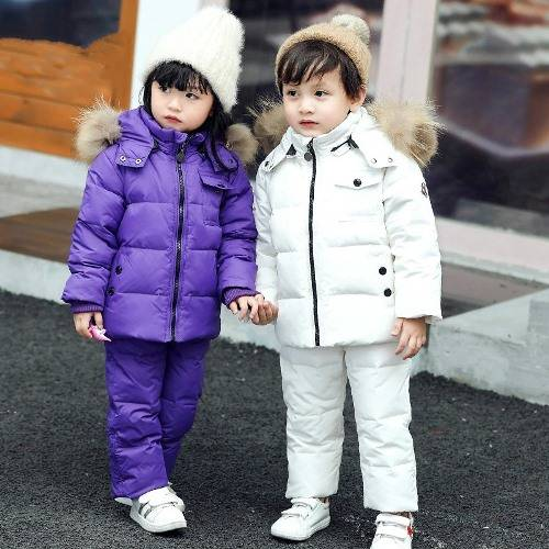 Детские зимние костюмы на возраст 1-6 лет на Алиэкспресс