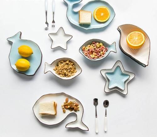 Тарелки необычной формы на Алиэкспресс