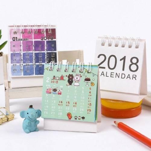 Настольные календари и планеры на 2018 год на Алиэкспресс