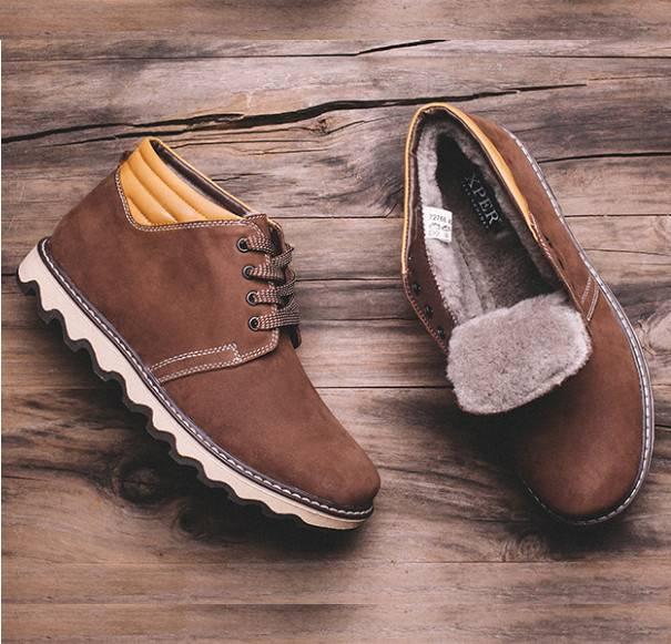 Мужские зимние ботинки 2018 на Алиэкспресс