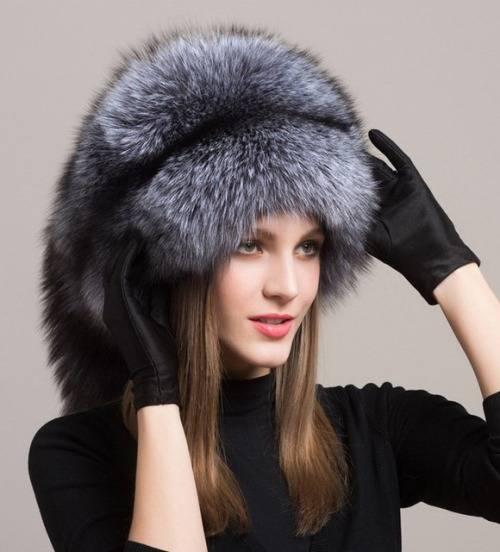 Меховые женские шапки на Алиэкспресс