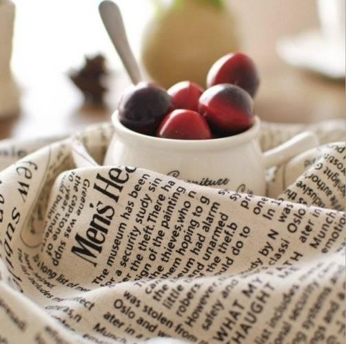 Красивые кухонные салфетки на Алиэкспресс