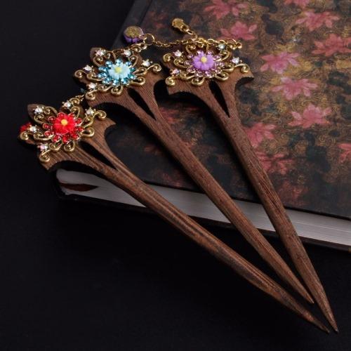 Винтажные палочки-заколки для волос на Алиэкспресс