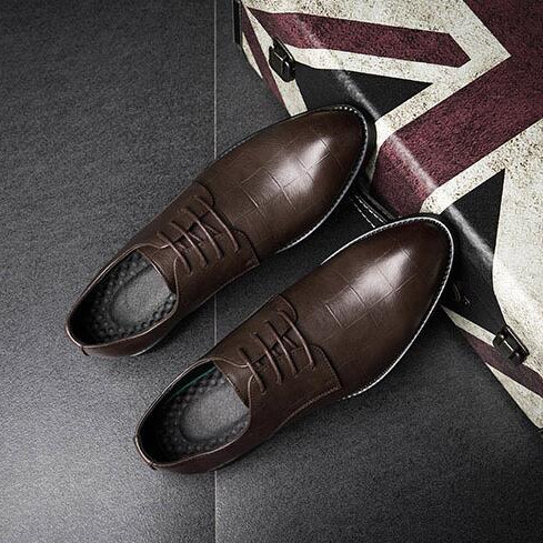 Мужские классические туфли и ботинки на шнуровке на Алиэкспресс