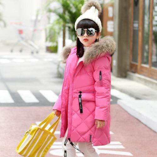 Зимние куртки и пуховики для девочек на Алиэкспресс