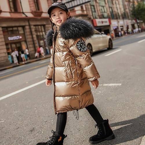Зимние куртки и пуховики для девочек 2019-2020 на Алиэкспресс