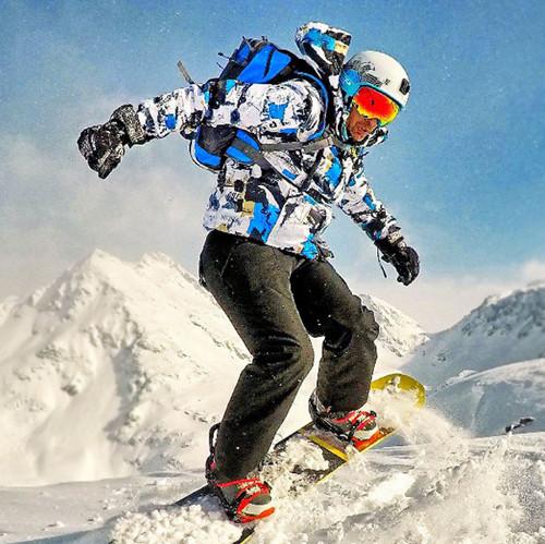 Мужские костюмы для сноубординга и лыжного спорта 2018-2019
