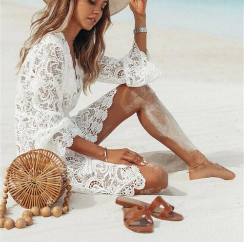 Пляжные платья, туники и накидки на Алиэкспресс