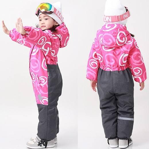 Детские зимние комбинезоны финского бренда Moomin на Алиэкспресс
