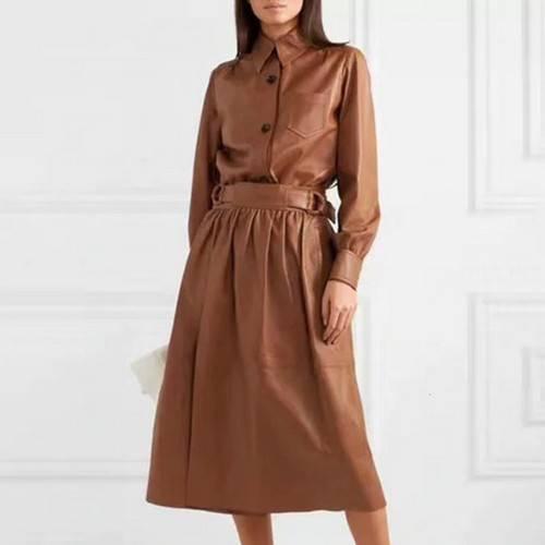Кожаные платья на Алиэкспресс