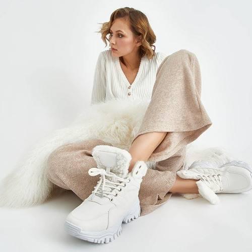 Женские зимние ботинки 2022 на Алиэкспресс