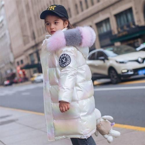 Зимние куртки и пуховики для девочек 2021 на Алиэкспресс
